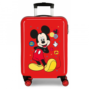 Disney children's case Mickey Mouse 33 liter ABS 55 cm red