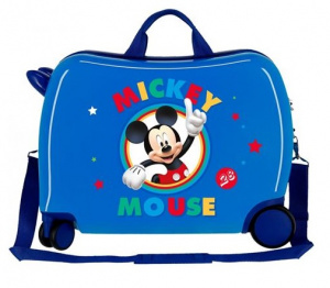 Disney kinderkoffer Mickey Mouse 50 cm ABS 34 liter blauw