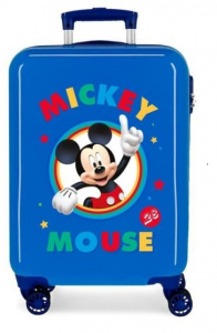 Disney kinderkoffer Mickey Mouse 55 cm ABS 34 liter blauw