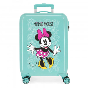 Disney kinderkoffer Minnie Mouse 33 liter ABS 55 cm mintgroen