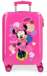 Disney kinderkoffer Minnie Mouse 33 liter ABS 55 cm roze