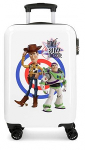 Disney kinderkoffer Toy Story 55 cm ABS 32 liter wit/blauw