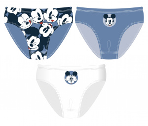 Disney ensemble de sous-vêtements Mickey Mouse coton bleu 3 pcs