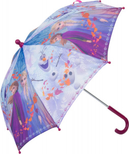 Disney parapluie Frozen II girls 65 x 55 cm rose/bleu