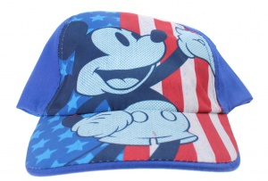 Disney cap Mickey Mouse junior blue size 54-56