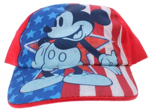Disney cap Mickey Mouse junior red size 54-56