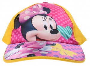 Disney cap Minnie Mousegirls yellow size 44-46