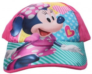 Disney cap Minnie Mousegirls pink size 44-46