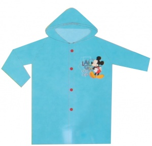 Disney regenjas Mickey Mouse junior blauw