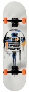 Disney Star Wars skateboard Fading R2D2 79 cm