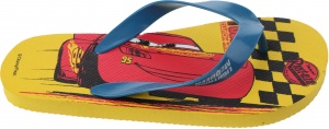 Disney teenslippers Cars jongens geel