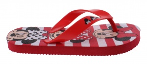 Disney teenslippers Minnie Mouse meisjes rood