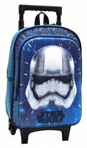 Disney star Wars Stormtroopertrolley backpack 12 litres blue