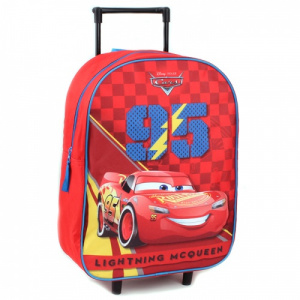 Disney trolley koffer Cars 15 liter polyester rood