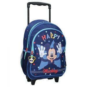Disney trolley Mickey Mouse Happiness 38 x 28 x 17 cm blauw