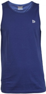 Donnay muscle shirt heren donkerblauw