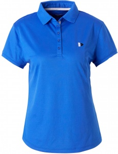 Donnay polo Cool-dry dames blauw