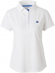 Donnay polo Cool-dry dames wit