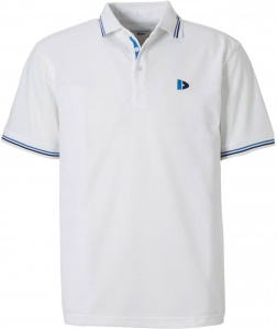 Donnay polo Cool-dry heren wit