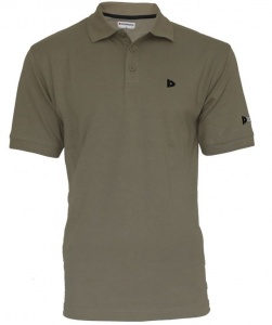 Donnay poloshirt heren taupe