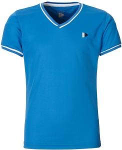 Donnay shirt V-neck Cool-dry girls blue