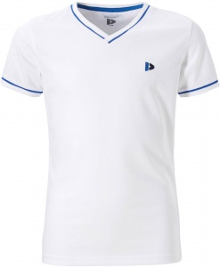 Donnay shirt V-hals Cool-dry meisjes wit