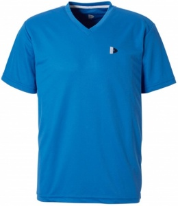 Donnay sportshirt V-neck men blue