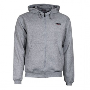 512a84ea76e Donnay zipped sweater with hood junior light grey