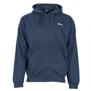 Donnay sweater met rits en capuchon junior navy