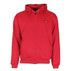 Donnay sweater met rits en capuchon junior rood