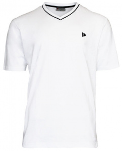 Donnay t-shirt Jasonmen's cotton white