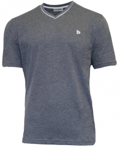 Donnay t-Shirt JasonHerren Polycotton grau