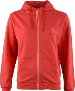 2dad54f9fb6 Donnay cardigan with hood ladies red