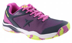 Drop Shot padelschoenen Zapatilla Sweet dames paars/geel