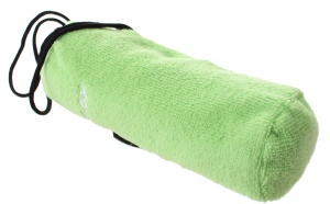 Dunlop sports towel green in bag 80 x 40 cm