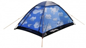 Dutch Mountains Luttenberg Clouds pop-up tent 210 cm blauw