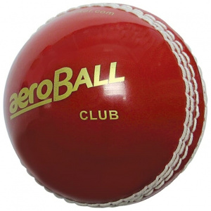 Easton cricketbal Aero Club heren 22,9 cm leer rood