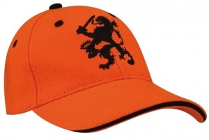 Nederlands Baseball Cap World Triumph Junior Oranje