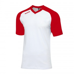 Erreà sportshirt Union unisex white / red