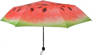 Esschert Design umbrella watermelon 98,2 cm polyester red
