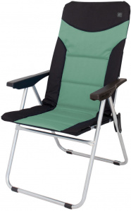 Eurotrail camping chair Brasil48 x 103 cm polyester black/green