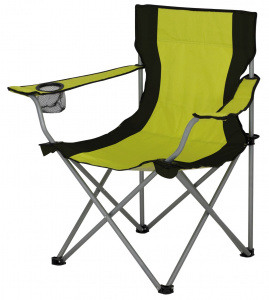 Eurotrail camping chair Lausanne53 x 43 cm polyester/steel green