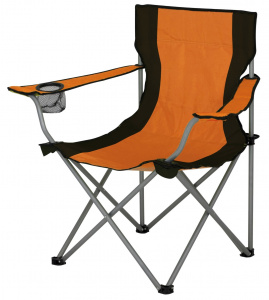 Eurotrail camping chair Lausanne53 x 43 cm polyester/steel orange