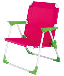 Eurotrail camping chair Nickyjunior 46 cm polyester/steel pink