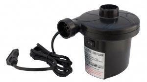 Eurotrail electric pump 0.54 psi 10 x 13 cm black 4-piece