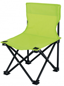 Eurotrail kinderstoel Lille 47 x 30 cm polyester/staal lime
