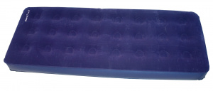 Eurotrail luchtbed Simple 190 x 74 x 22 cm flocked PVC navy
