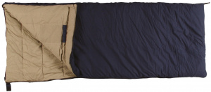 Eurotrail comfort XL 220 x 100 cm cotton navy sleeping bag