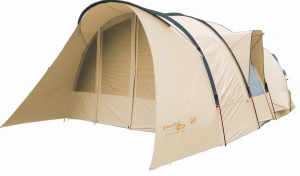 Eurotrail tent Yellowstone 300 4-persoons polyester/katoen bruin