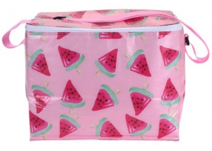 Excellent Houseware koeltas Tropical - Meloen 10 liter roze